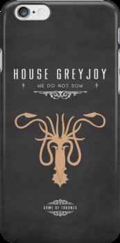 House Greyjoy iPhone Case by liquidsouldes