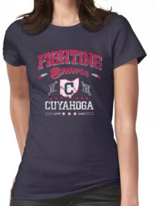 Fighting Braves of the Cuyahoga Womens Fitted T-Shirt