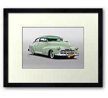 1947 Chevrolet Fleetline Sedanette Framed Print