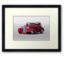 1935 Chevrolet Phaeton Framed Print