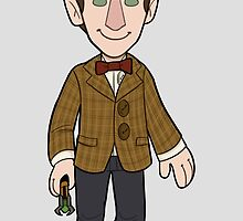 11th Doctor by quietsnooze
