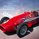 Ferrari Tipo 500 Front View by Stuart Row