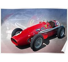 Ferrari Tipo 500 Front View Poster