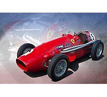 Ferrari Tipo 500 Front View Photographic Print
