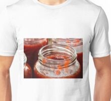 Strawberry jam cooking fill the jam Unisex T-Shirt