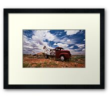 Welcome to Whitecliffs Framed Print