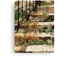 Abstractive Steps ~ Part One Canvas Print