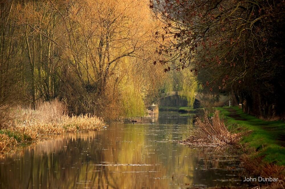 Tranquil days by John Dunbar