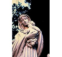 The Virgin Mary Photographic Print
