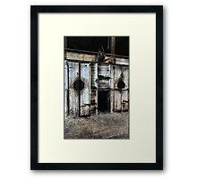 Where Have All The Shearers Gone - Junee NSW Australia Framed Print