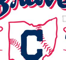 Fighting Braves of the Cuyahoga - Home Sticker
