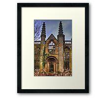 Gothic Ruin Framed Print