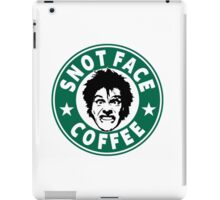 Snot Face Coffee iPad Case/Skin