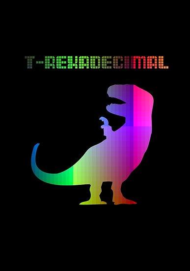 T-Rexadecimal by jezkemp