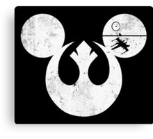Rebel Mouse Canvas Print