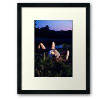 D3 Framed Print