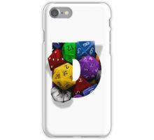 Geek letter D iPhone Case/Skin