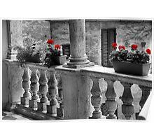 Good Morning Siena-Tuscany Poster
