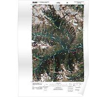 USGS Topo Map Washington State WA Goode Mountain 20110427 TM Poster