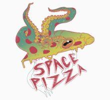 Space Pizza Kids Tee