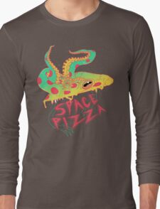 Space Pizza Long Sleeve T-Shirt