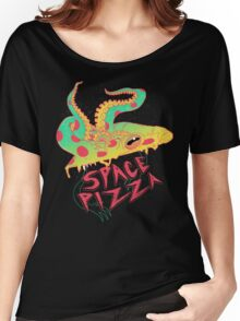 Space Pizza Women's Relaxed Fit T-Shirt