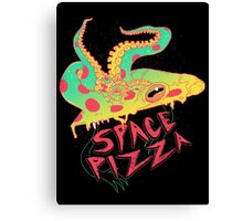 Space Pizza Canvas Print