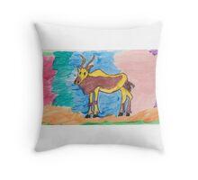 ART FUN by Cheryl D rb-017 Throw Pillow