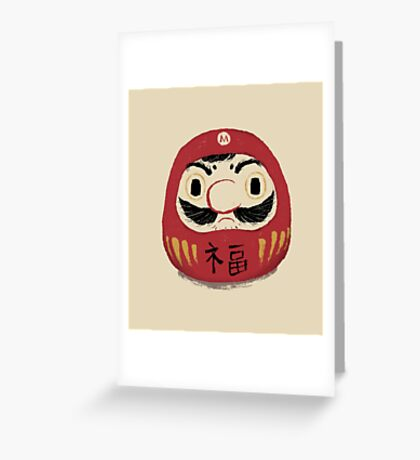 darumario Greeting Card