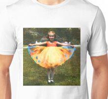 1920s Girl in bright Dress (photo Restore) Unisex T-Shirt