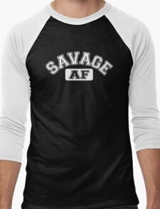 SAVAGE - AF Men's Baseball ¾ T-Shirt