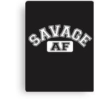 SAVAGE - AF Canvas Print