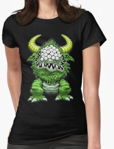 THE BLACK BEAST Womens Fitted T-Shirt