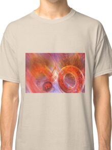 Mathematics abstract with movement in time and space Classic T-Shirt