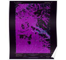 USGS Topo Map Washington State WA Camas Patch 240309 1965 24000 Inverted Poster