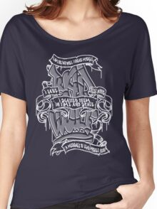 Bad Wolf - white paint Women's Relaxed Fit T-Shirt