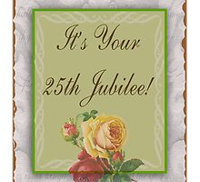 Nuns 25th Silver Jubilee Card by gailg1957