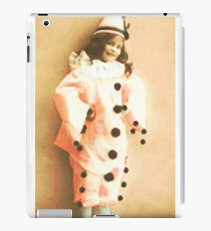 Clown Around Vintage Costume  iPad Case/Skin