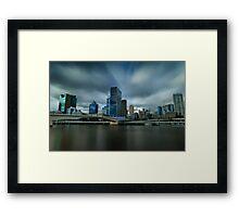 City Views Framed Print