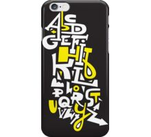 Learn Your ABC iPhone Case/Skin