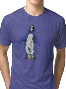 Hyouka: Eru Chitanda Penguin Outfit Pose Tri-blend T-Shirt