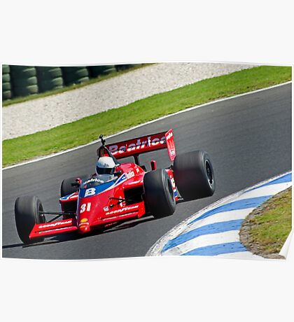Lola-Hart F1 Poster