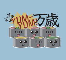 Sushi SUSHI Yum YUM BANZAI! by Frankenstylin
