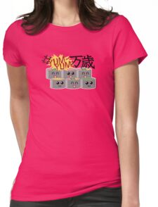 Sushi SUSHI Yum YUM BANZAI! Womens Fitted T-Shirt