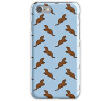 Cute Otter pattern iPhone Case/Skin