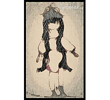 The Red Doll with the Long Hair. By Lydeeah.. Photographic Print