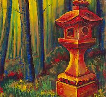 Golden Forest Lantern by Lester Ancheta