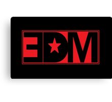 EDM - EDM Music Canvas Print