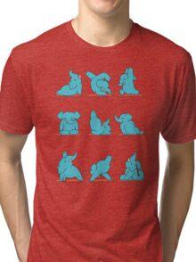 Elephant Yoga Tri-blend T-Shirt