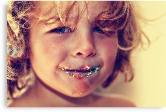 Freckle face by Tam  Locke